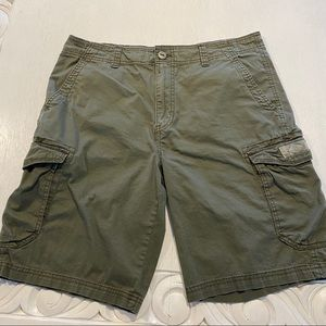 Unionbay Union Bay Cargo Shorts Green